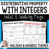 Distributive Property Coloring Page