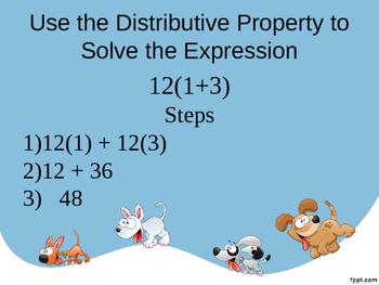 Distributive Property Quick Warm-up