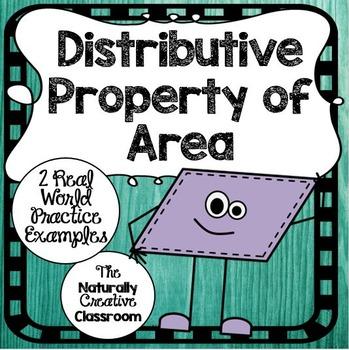 Distributive Property of Area Sheets
