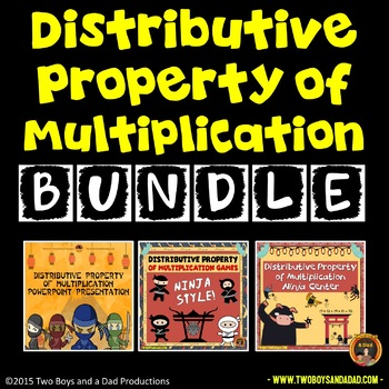 Distributive Property of Multiplication Bundle