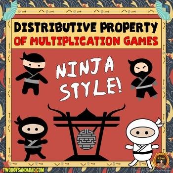 Distributive Property of Multiplication Games