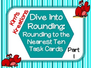 Dive into Rounding: Rounding to the Nearest 10 (24 Task Ca