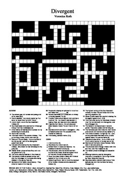 Divergent - Big Fun Crossword