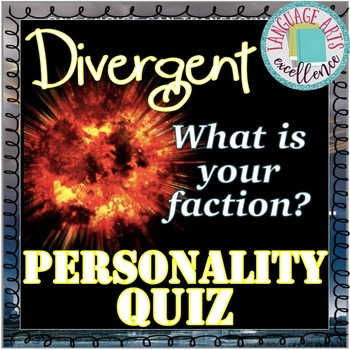 Divergent Faction Personality Quiz