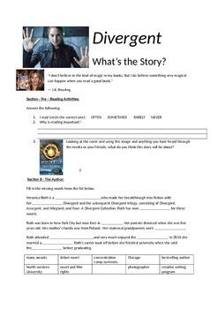 Divergent Novel Questions and Activities