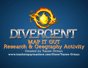 Divergent Novel Research & Mapping Activity