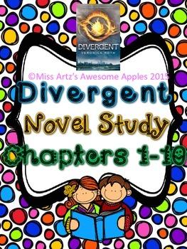 Divergent Novel Study - Chapters 1-39 - Common Core Aligne