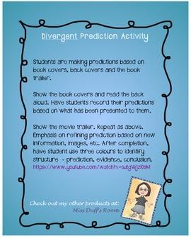 Divergent Prediction Activity