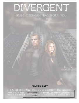 Divergent - vocabulary