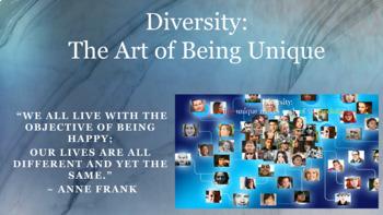 Diversity Tolerance Discrimination Lesson PBIS w 7 video l