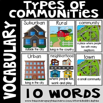 Diversity Vocabulary Word Posters