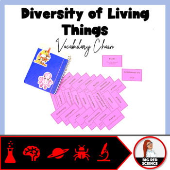 Diversity of Living Things Vocabulary Chain