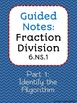 Divide Fractions w/ Algorithm (prove with models)- guided