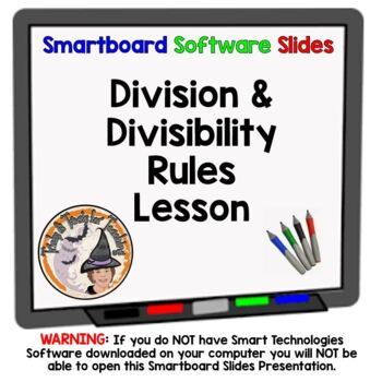 Divide Whole Numbers Divisibility Rules Division Dividing