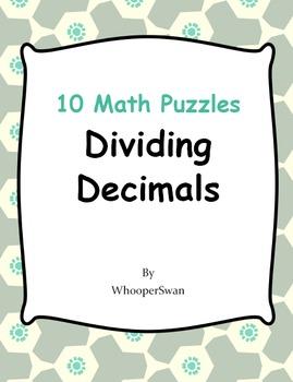 Dividing Decimals Puzzles