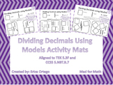 Dividing Decimals Using Models Activity Mats 5.3F 5.NBT.B.7