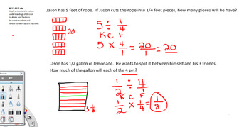 Dividing Fractions 5th Grade Common Core Math - Video