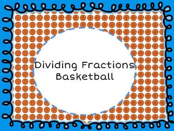 Dividing Fractions Basketball