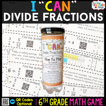 6th Grade Dividing Fractions Game - 6th Grade Math Game