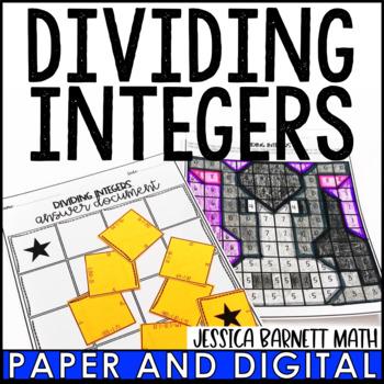 Dividing Integers Lesson Bundle