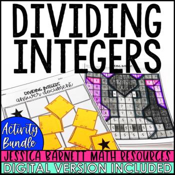 Dividing Integers Activity Pack
