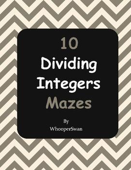 Dividing Integers Maze