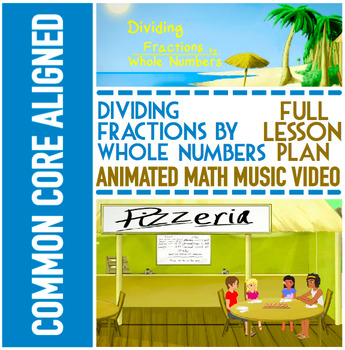 DIVIDING FRACTIONS BY WHOLE NUMBERS: Activity Bundle by NUMBEROCK