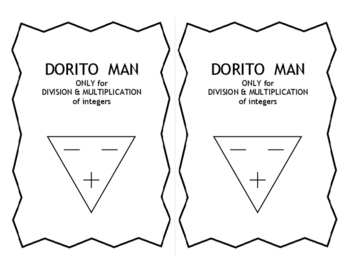 Dividing and Multiplying Integers with Dorito Man