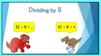 Dividing by 8