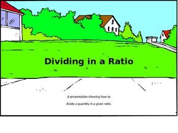 Dividing in a Ratio