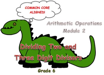 Dividing two and three digit divisors