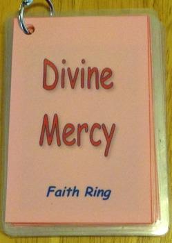 Divine Mercy Chaplet Faith Ring