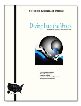 """Diving Into the Wreck"" COMPLETE UNIT EDITABLE Activities,"