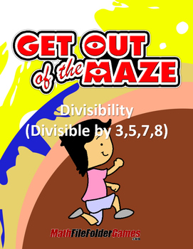 Divisibility Maze - Divisible by 3,5,7,8