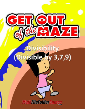 Divisibility Maze - Divisible by 3,7,9