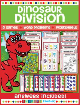 Division printables and games!