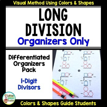 Long Division with a Differentiated Approach - Organizers Only
