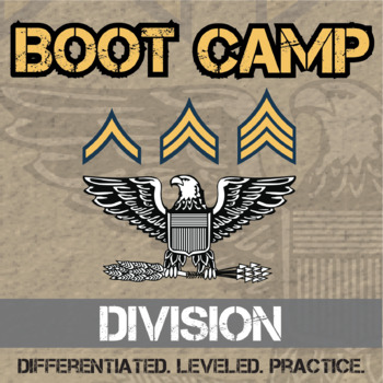 Division Boot Camp -- Differentiated Division Practice Ass