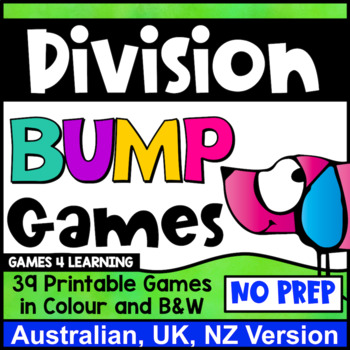 Division Bump Games [Australian UK NZ Edition]