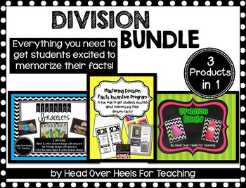 Division Bundle {Everything to memorize those division facts!}