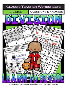 Division - Dividing with Arrays - Grades 2-3 (2nd-3rd Grade)