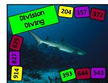 Division Diving Board Game