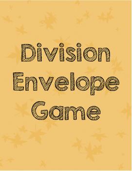 Division Envelope Game