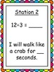 Division Facts Fluency Exercise Activity