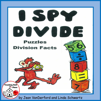 I Spy Divide | Practice Division Facts | Puzzles | FUN |NO