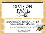 Division Facts Practice 0-12 Mega Pack