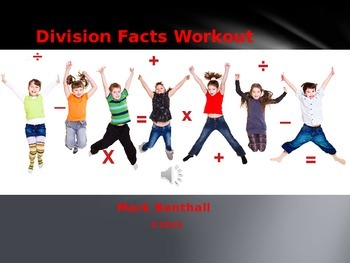 Math Facts Workout: Division