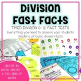 Division Fast Facts {Fluency Quizzes}