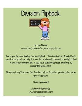 Division Flipbook