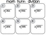 Division Hunt 3 digit-dividends